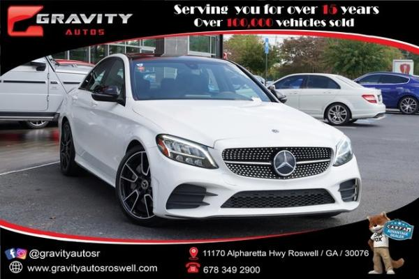 Used 2019 Mercedes-Benz C-Class C 300 for sale $34,992 at Gravity Autos Roswell in Roswell GA