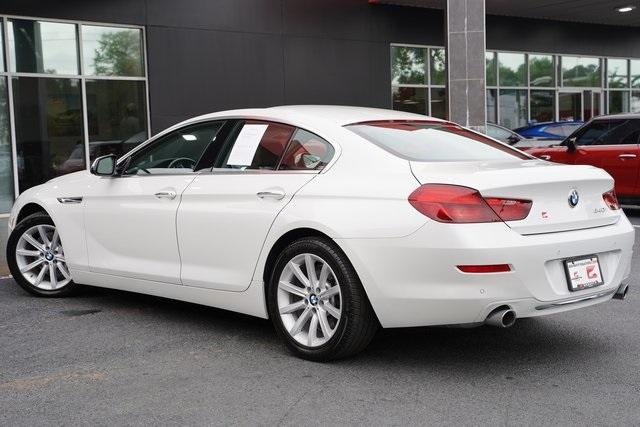 Used 2016 BMW 6 Series 640i Gran Coupe for sale $39,992 at Gravity Autos Roswell in Roswell GA 30076 11