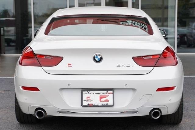 Used 2016 BMW 6 Series 640i Gran Coupe for sale $39,992 at Gravity Autos Roswell in Roswell GA 30076 12