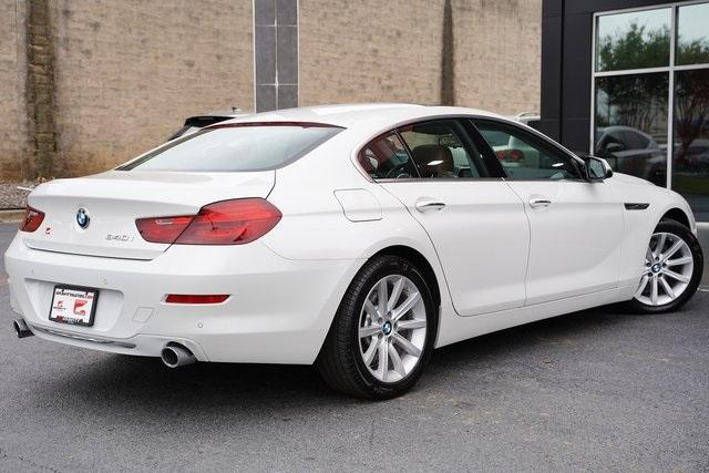 Used 2016 BMW 6 Series 640i Gran Coupe for sale $39,992 at Gravity Autos Roswell in Roswell GA 30076 13