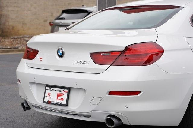 Used 2016 BMW 6 Series 640i Gran Coupe for sale $39,992 at Gravity Autos Roswell in Roswell GA 30076 14