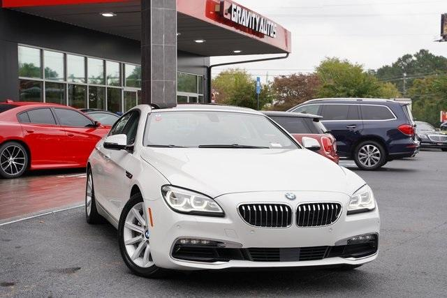 Used 2016 BMW 6 Series 640i Gran Coupe for sale $39,992 at Gravity Autos Roswell in Roswell GA 30076 2