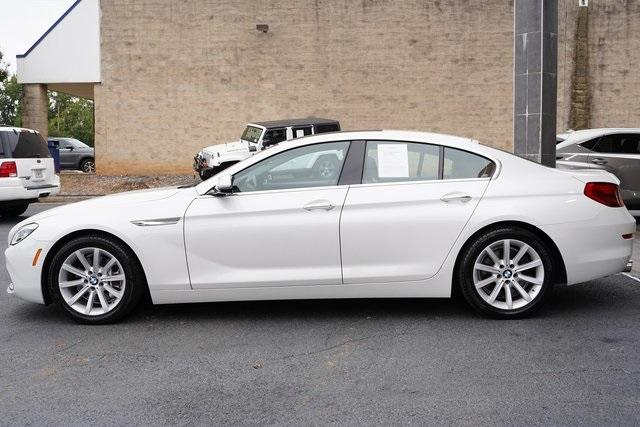 Used 2016 BMW 6 Series 640i Gran Coupe for sale $39,992 at Gravity Autos Roswell in Roswell GA 30076 4