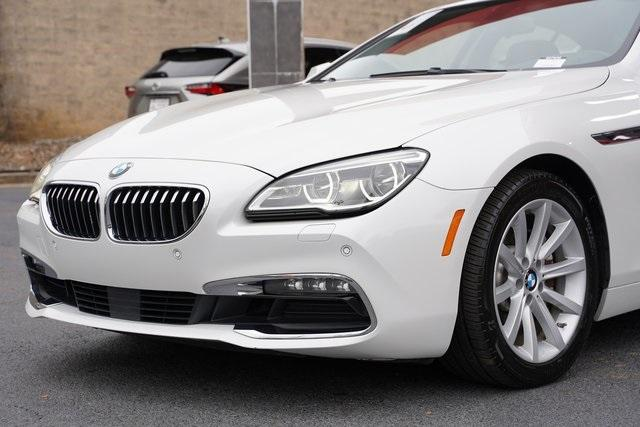 Used 2016 BMW 6 Series 640i Gran Coupe for sale $39,992 at Gravity Autos Roswell in Roswell GA 30076 9