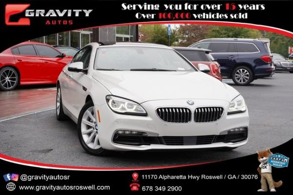 Used 2016 BMW 6 Series 640i Gran Coupe for sale $39,992 at Gravity Autos Roswell in Roswell GA