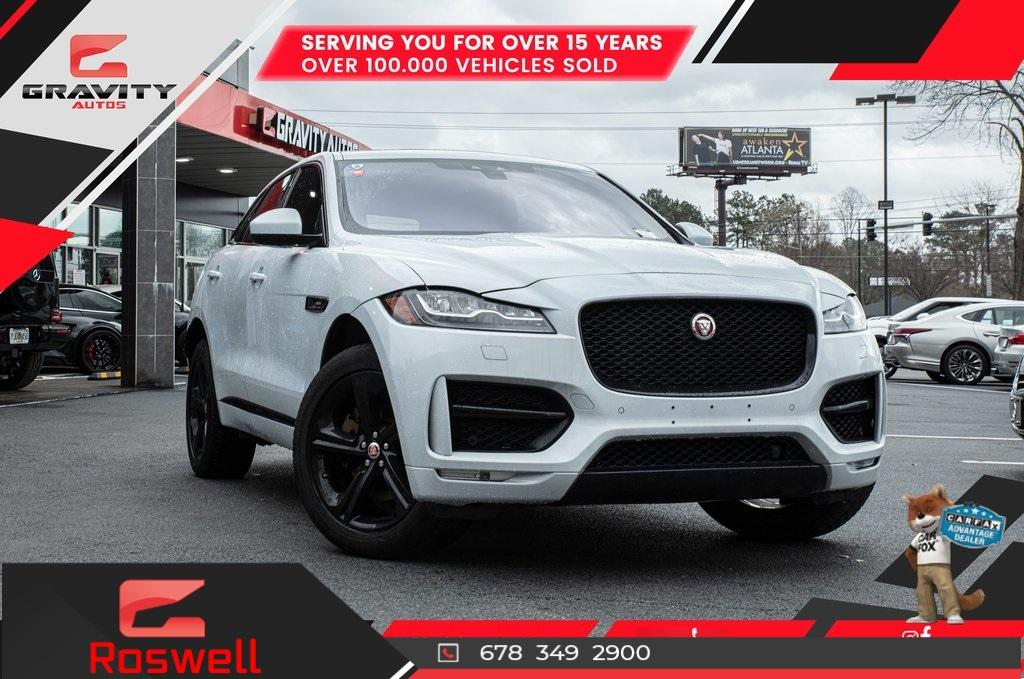 Used 2017 Jaguar F-PACE 35t R-Sport for sale $42,996 at Gravity Autos Roswell in Roswell GA 30076 1