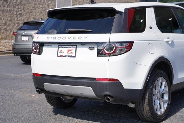 Used 2016 Land Rover Discovery Sport HSE for sale $27,996 at Gravity Autos Roswell in Roswell GA 30076 14