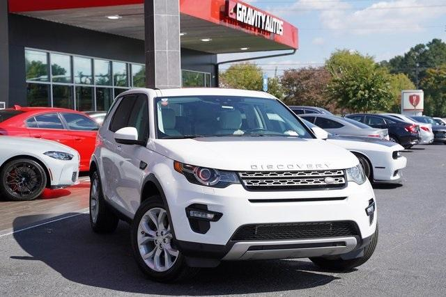 Used 2016 Land Rover Discovery Sport HSE for sale $27,996 at Gravity Autos Roswell in Roswell GA 30076 2