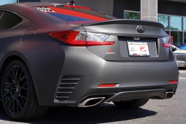 Used 2016 Lexus RC 350 for sale $38,996 at Gravity Autos Roswell in Roswell GA 30076 14
