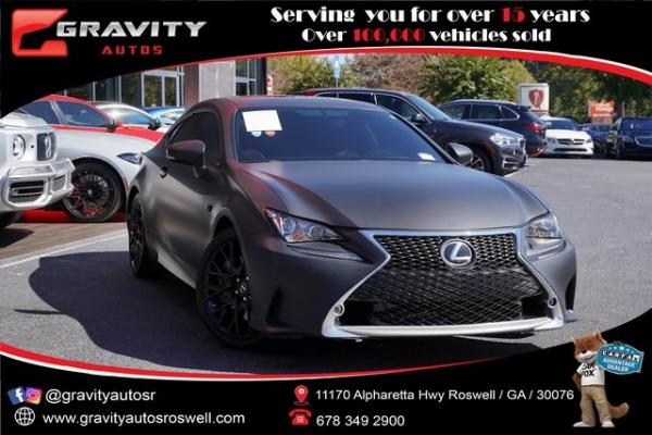 Used 2016 Lexus RC 350 for sale $38,996 at Gravity Autos Roswell in Roswell GA