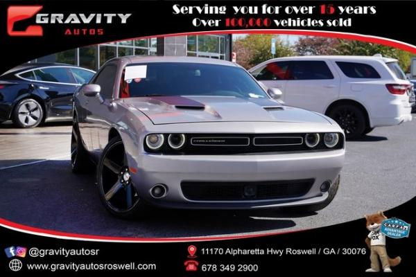 Used 2018 Dodge Challenger SXT for sale $31,996 at Gravity Autos Roswell in Roswell GA