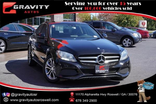 Used 2017 Mercedes-Benz C-Class C 300 for sale $29,996 at Gravity Autos Roswell in Roswell GA