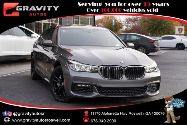 Used 2017 BMW 7 Series 740i for sale $42,996 at Gravity Autos Roswell in Roswell GA