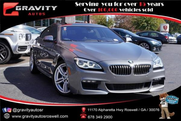 Used 2016 BMW 6 Series 640i xDrive Gran Coupe for sale $39,996 at Gravity Autos Roswell in Roswell GA