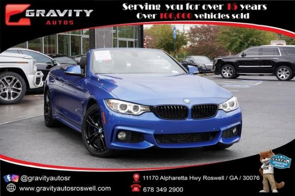 Used 2016 BMW 4 Series 428i xDrive for sale $31,992 at Gravity Autos Roswell in Roswell GA