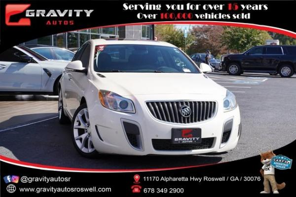 Used 2013 Buick Regal GS for sale $19,992 at Gravity Autos Roswell in Roswell GA